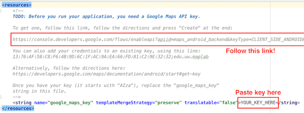Android Development Lecture Notes - Https google maps directions